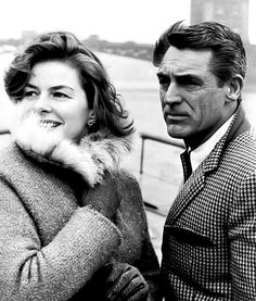"Ingrid Bergman and Cary Grant ""I think the Academy ought to set aside a special award for Bergman every year whether she makes a picture or not!"" (Cary Grant)"