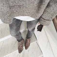 This Fall, we're all about the gray on gray.  // Follow @ShopStyle on Instagram for more inspo.
