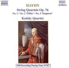 Cuarteto 76.3 Emperador. El formato de la música de cámara se puede atribuir a Haydn. Lo que no quiere decir que antes de él no existiese pero si que carecía de la estructura actual. Cada intérprete resulta ser un verdadero solista en tanto que cada uno toca una parte diferente,  algo que no pasa con la música orquestal. Hacernos con una gran interpretación puede ser incluso barato.