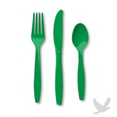 Have enough plastic spoons, forks and knives on hand for the big day!