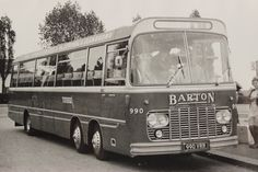 Barton Transport Fleet no. 990, A Harrington 'Legionare'  bodied Bedford Val 14