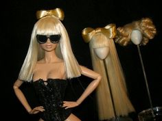 Gaga Barbie... cool and a little freaky.
