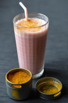 Sunshine Smoothie with Turmeric and Ginger | It Was Just Right