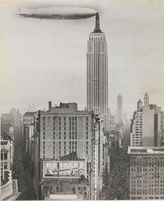 Zeppelin..repostando en Empire State.