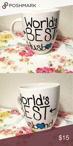 🌸World's Best Husband Personalized Mug LOVE! This special mug I got to personalize as a gift! Your husband already knows he's the best, let everyone else know while he sips his favorite coffee or tea! Find this and many more on my Instagram and Etsy!  #worldsbesthusband #giftsforhim #husbandmug #mugs #mugsofinstagram #personalize #custom The Laughing Llama Co Other