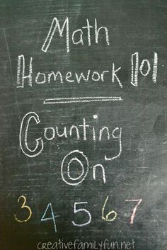 Math Homework 101: What is counting on and how can you help your kids master this skill?