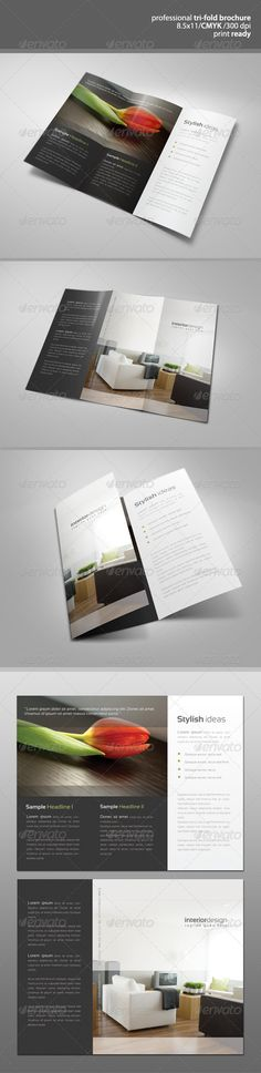 Modern Tri-Fold Brochure - GraphicRiver Item for Sale