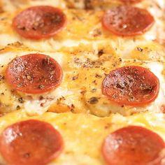 Pizza no Pão de Forma