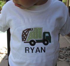 Trash truck t-shirt