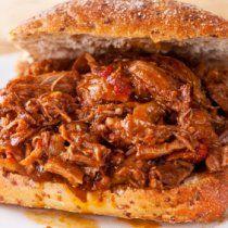 Receta de Sandwich de Carne de Costilla de Res