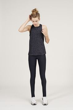 The Dancer Leggings in Charcoal from Outdoor Voices. Activewear. Click on the link above and shop now.