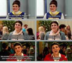 Sadie is the biggest b***h on television, but I can't help but be slightly in love with her. Everyone should watch Awkward.