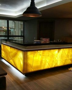 Onyx bar Natural marble