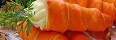 Como fazer cenoura de páscoa - cones de cenoura para rechear - Show de Receitas