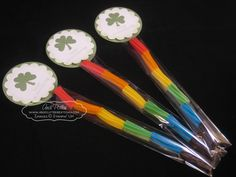 1x8 Cellophane Bag party favors for St. Patrick's Day