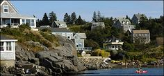 The charming Monhegan harbor is the epitome of Maine's coast.