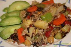 Caribbean Wild Rice, my favorite Daniel Fast recipe