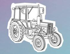 """Tractor MTZ-80UK """"Belarus"""""""