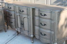 Aged Warm Silver Metallic Paint