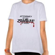 Attorney Zombie T Shirt, Hoodie Sweatshirt