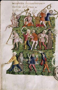 Paris, Bibl. Sainte-Geneviève, ms. 3368, f. 013, 15e s. (deuxième tiers)