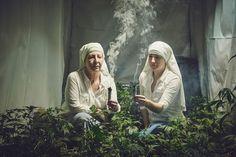 La monjas que cultivan marihuana para sanar el mundo