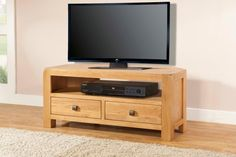 Radford Oak Corner TV Unit