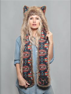 SpiritHoods Coyote Tuscan. Join the tribe at www.spirithoods.com!