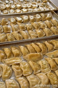 Healthy Meals For Kids Pierogi - A 100 year old family recipe for traditional stuffed dumplings. Recipe includes four different and delicious stuffing options! Ukrainian Recipes, Russian Recipes, Slovak Recipes, Ukrainian Food, Stuffed Dumplings, Great Recipes, Favorite Recipes, Family Recipes, Family Meals