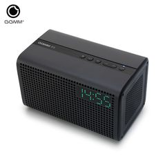 GGMM E3 brand WiFi Wireless Bluetooth Speaker Hands free Audio Home Theatre Stereo System Computer with LED Alarm