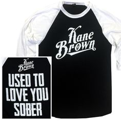 Kane Brown Black and White Baseball Tee Country Girl Style, My Style, Southern Style, Country Girls, Jason Aldean Concert, Summer Outfits, Cute Outfits, Summer Clothes, Cole Swindell