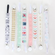 There is nothing worse than your babys pacifier/teething toy/Taggie Block falling on a dirty, germ covered floor! Purchase a clip and you