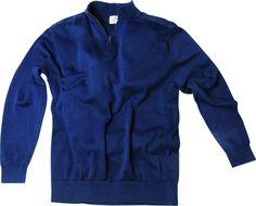 [img-9085-left-thickbox_default] Pull allsize pour homme composé de 100 % Coton Pull avec renforts sur les épaules  Finition bord côtes et bande sur les cotés du pull