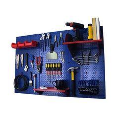 Wall Control Pegboard Standard Tool Storage Kit, Blue/Red Wall Control http://www.amazon.com/dp/B00BPUVMUQ/ref=cm_sw_r_pi_dp_j0aIwb1DZNWDD