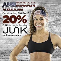 Christina Merlo for American Valor #americanflag #america #usa #fitness #fashion #graphicdesign #crossfit #JUNKbrands