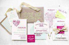 Wedding invitation idea - Melanie Duerkopp Photography