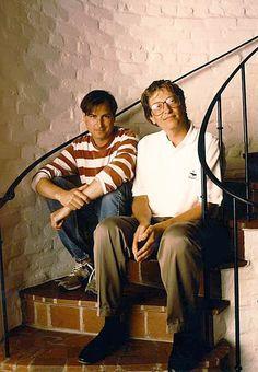 Steve Jobs + Bill Gates @ IdeaFixa