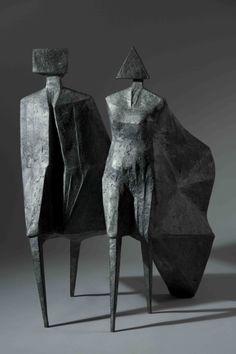 Lynn Chadwick, Maquette IV Jubilee III 1987 Bronze