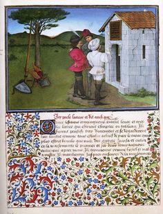 Barthélémy d'Eyck (Livre du Cœur d'Amour épris) (1457-72, Österreichische Nationalbibliothek, Wien)