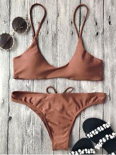 Up to 80% OFF! Spaghetti Straps Padded Bikini Set. #Zaful #swimwear Zaful, zaful bikinis, zaful dress, zaful swimwear, style, outfits,sweater, hoodies, women fashion, summer outfits, swimwear, bikinis, micro bikini, high waisted bikini, halter bikini, crochet bikini, one piece swimwear, tankini, bikini set, cover ups, bathing suit, swimsuits, summer fashion, summer outfits, Christmas, ugly Christmas, Thanksgiving, Gift, New Year Eve, New Year 2017. @zaful Extra 10% OFF Code:ZF2017