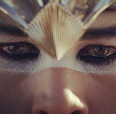 Luke Steele's dreamy eyes.