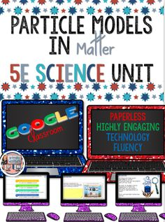 Particles of Matter Model 5E Science Unit. Everything you need to teach students how to create and understand particle models. This full 5E unit is paperless and includes 13 digital slides of action packed content that will keep your students engaged and motivated to learn. All of the work is done for you, just give them the link and then sit back and watch the magic happen as your students move through the activities at their own pace but all reach the same final outcome. $