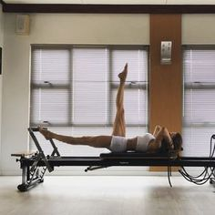 A Pilates Reformer routine to increase functional range of motion and strength of the foot, including the many joints involved in the…