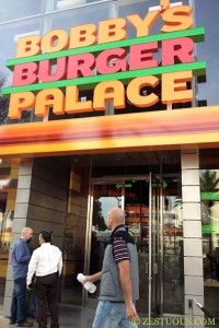 Bobby's Burger Palace -- right in front of the Mandarin Oriental on the Las Vegas Strip!