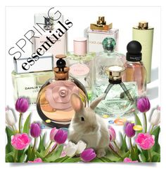 """In Bloom:  Spring Perfume"" by barbarapoole ❤ liked on Polyvore featuring beauty"