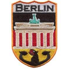 Keychain keyring embroidered embroidery patch double sided flag bermen germany
