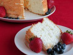 Angel Food Cake Slice - The Gluten-Free Homemaker