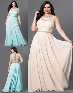 Backless Dresses for Plus Sized Women