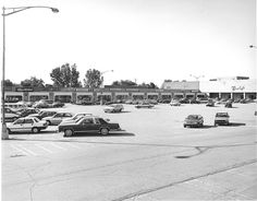 Westborn Shopping Center and Crowley\'s. Photo courtesy of Dearborn Historical Museum Dearborn Michigan, Media Center, Shopping Center, Looking Back, Past, Museum, Crowley, History, Building
