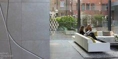 200 Aldersgate - Feature leather wall